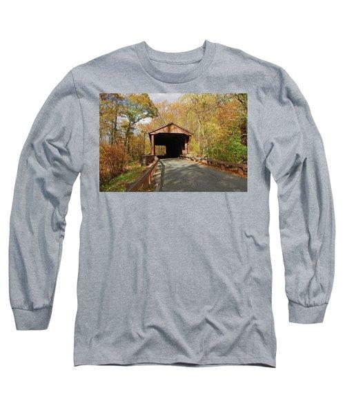 Jericho Covered Bridge Long Sleeve T-Shirt
