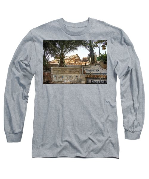 Long Sleeve T-Shirt featuring the photograph Jerico by Mae Wertz