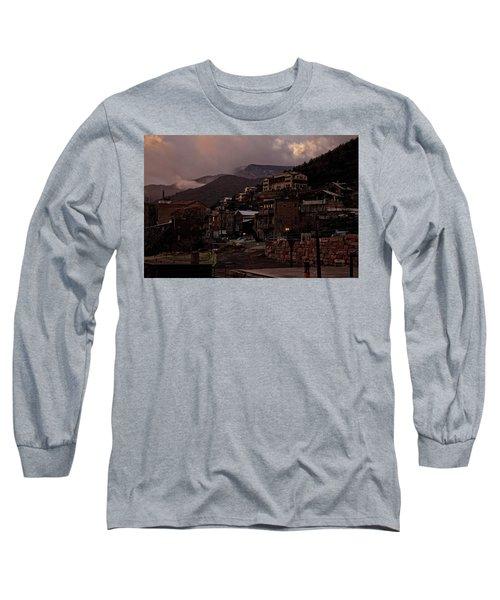 Jerome On The Edge Of Sunrise Long Sleeve T-Shirt