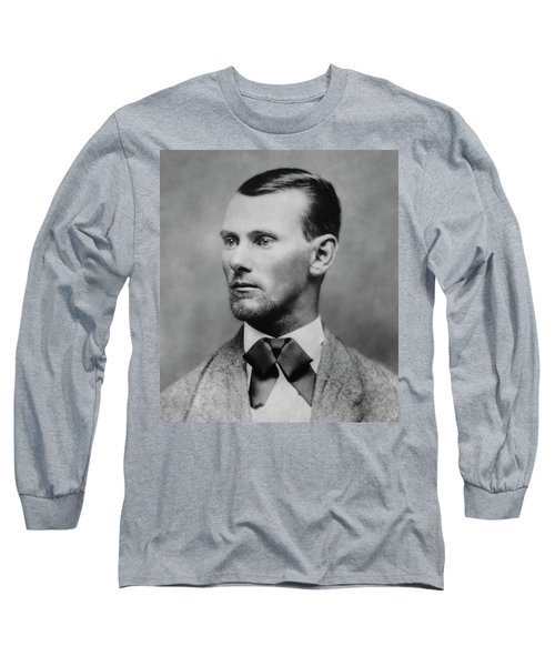 Jesse James -- American Outlaw Long Sleeve T-Shirt