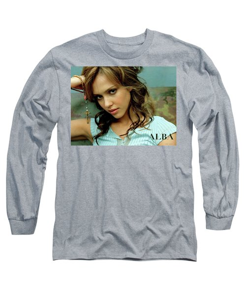 Jessica Alaba Long Sleeve T-Shirt