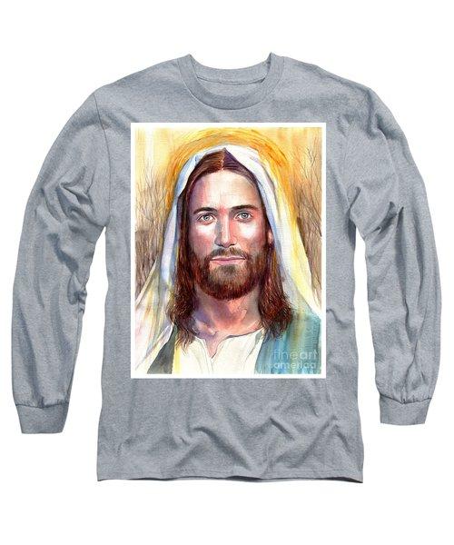 Jesus Of Nazareth Painting Long Sleeve T-Shirt