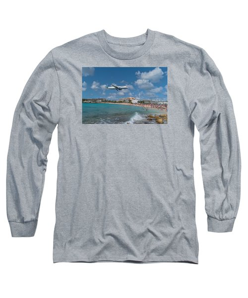 jetBlue at St. Maarten Long Sleeve T-Shirt