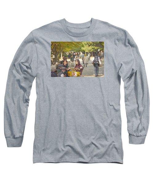 Jidai Matsuri Xxi Long Sleeve T-Shirt by Cassandra Buckley