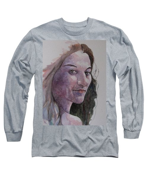 Joanna Long Sleeve T-Shirt by Ray Agius