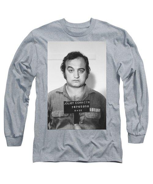 John Belushi Mug Shot For Film Vertical Long Sleeve T-Shirt