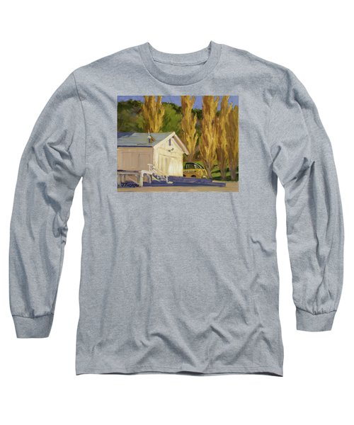 John Deere Long Sleeve T-Shirt by Jane Thorpe