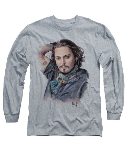 Johnny Depp Long Sleeve T-Shirt