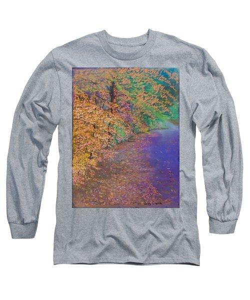 John's Pond In The Fall Long Sleeve T-Shirt