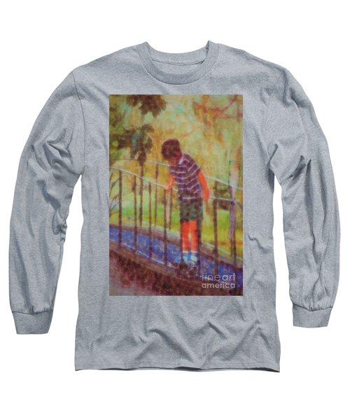 John's Reflection Long Sleeve T-Shirt by Donna Bentley