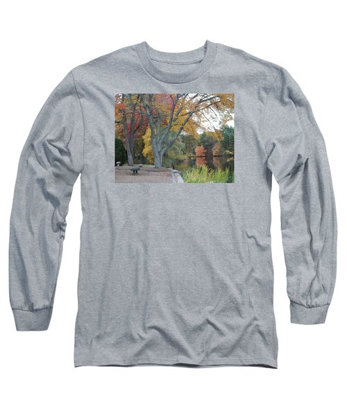 Johnson's Pond Rest Area Long Sleeve T-Shirt