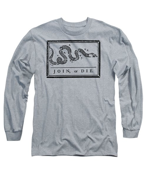 Join Or Die Long Sleeve T-Shirt by War Is Hell Store