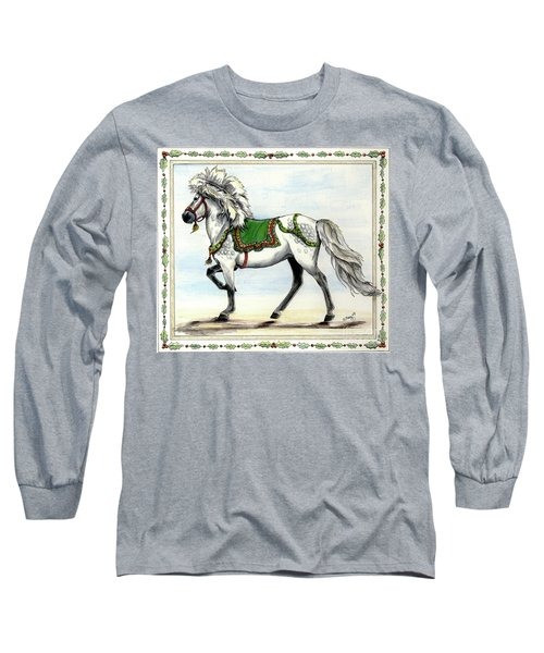 Long Sleeve T-Shirt featuring the painting Jol  by Shari Nees
