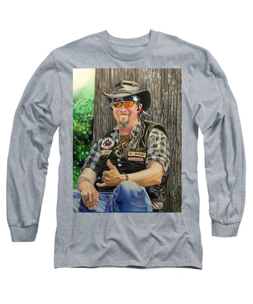 Jon Jones, Army Of Northern Virginia Mechanized Cavalry  Long Sleeve T-Shirt