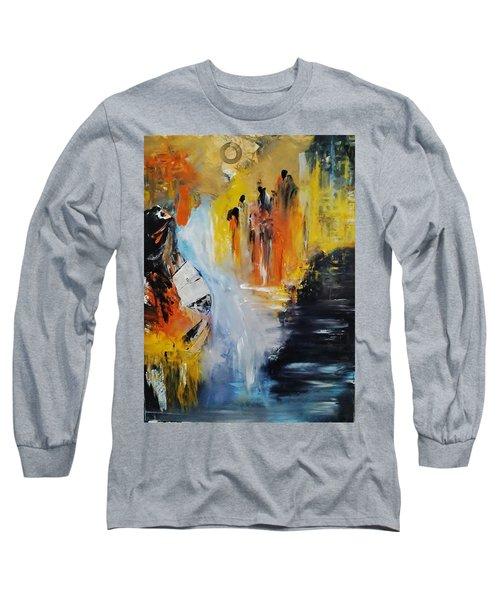 Jordan River Long Sleeve T-Shirt by Kelly Turner