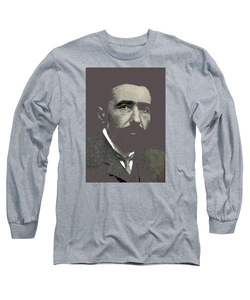 Joseph Conrad George Charles Beresford Photo 1904-2015 Long Sleeve T-Shirt by David Lee Guss