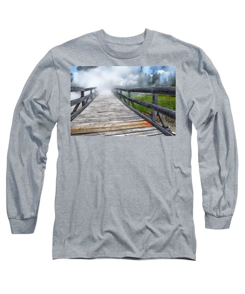 Journey Into The Unknown Long Sleeve T-Shirt