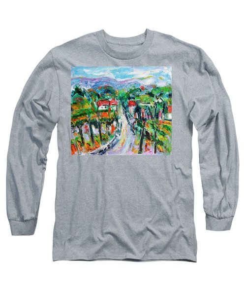 Journey Through The Vines Long Sleeve T-Shirt