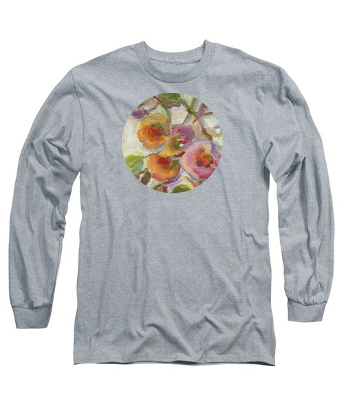 Long Sleeve T-Shirt featuring the painting Joy by Mary Wolf