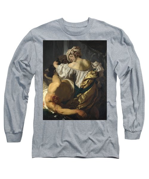 Judith In The Tent Of Holofernes Long Sleeve T-Shirt