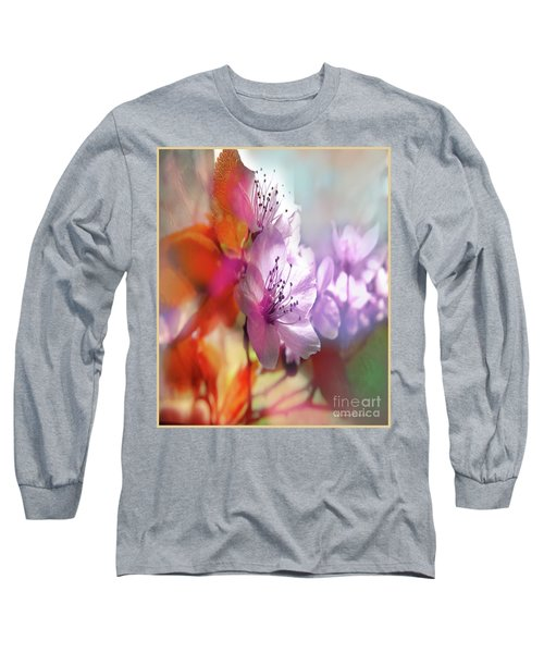 Juego Floral Long Sleeve T-Shirt by Alfonso Garcia