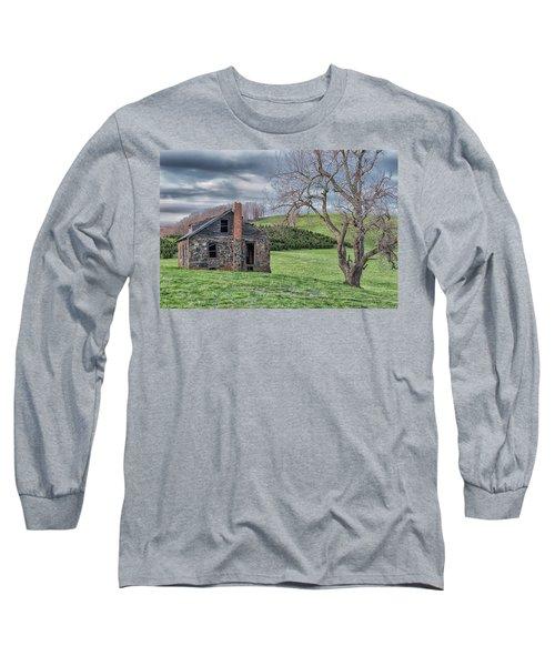 Junaluska Road Christmas Tree Farm Long Sleeve T-Shirt