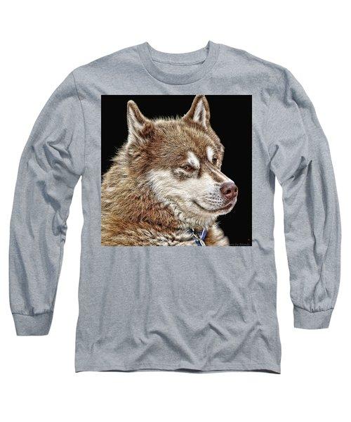 Long Sleeve T-Shirt featuring the photograph Juneau by Rhonda McDougall
