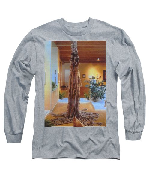 Jungle Spirit Long Sleeve T-Shirt by Bernard Goodman