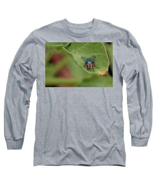 Just A Fly Long Sleeve T-Shirt by Scott Holmes