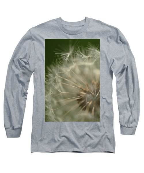 Just A Weed Long Sleeve T-Shirt by Michael McGowan
