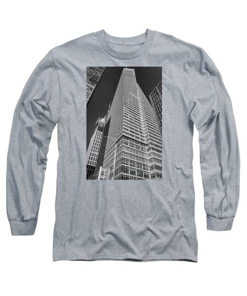 Just Another Skyscraper 2 Long Sleeve T-Shirt by Sabine Edrissi