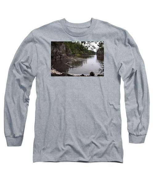 Long Sleeve T-Shirt featuring the photograph Just Around The Bend by Sandra Updyke