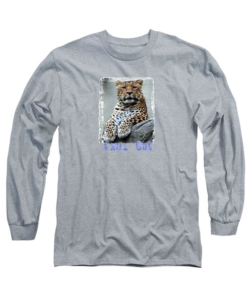 Just Chillin' Long Sleeve T-Shirt by DJ Florek