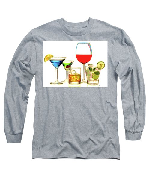 Just Give Me A Drink Long Sleeve T-Shirt