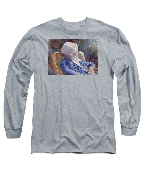 Just Resting My Eyes Long Sleeve T-Shirt