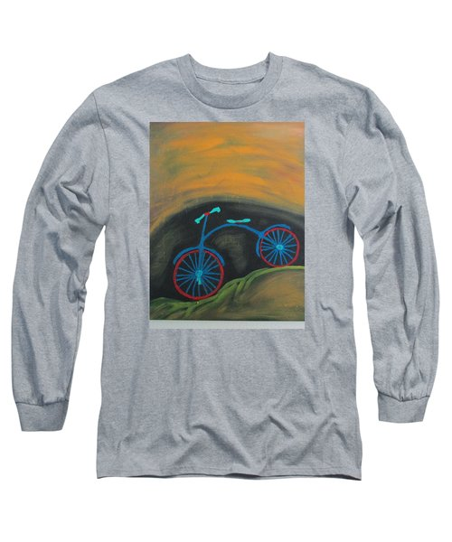 Long Sleeve T-Shirt featuring the painting Just Roamin by Sharyn Winters