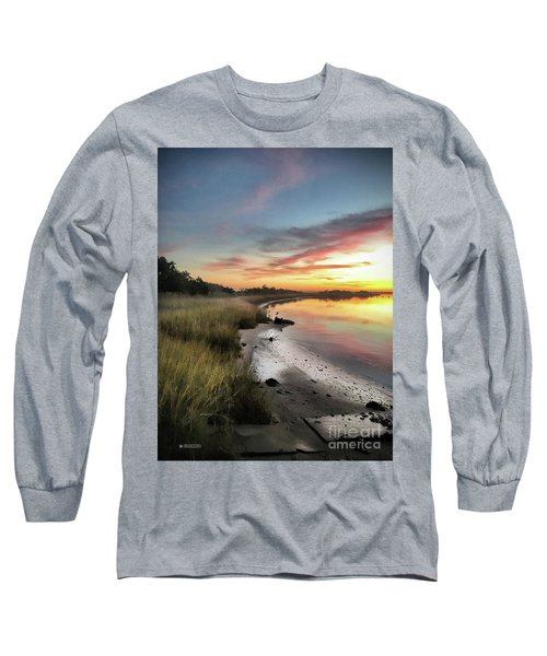 Just The Two Of Us At Sunset Long Sleeve T-Shirt by Phil Mancuso