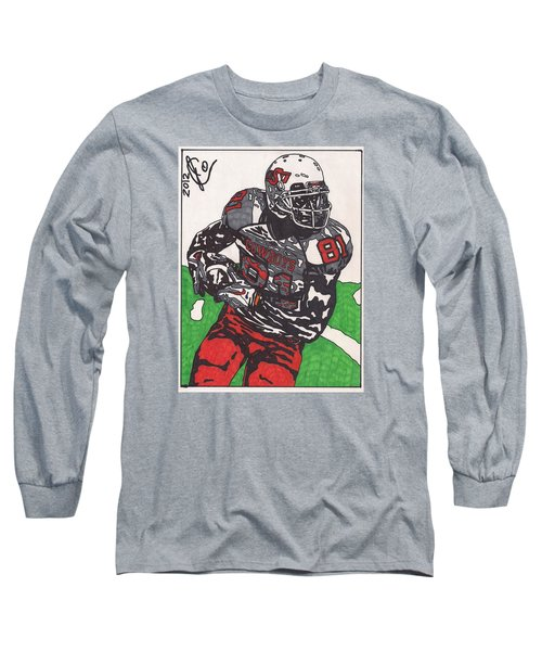 Justin Blackmon 2 Long Sleeve T-Shirt by Jeremiah Colley