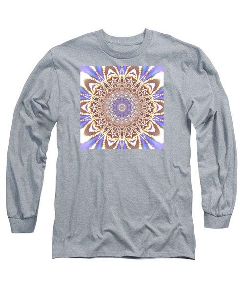 Long Sleeve T-Shirt featuring the digital art Jyoti Ahau 14 by Robert Thalmeier