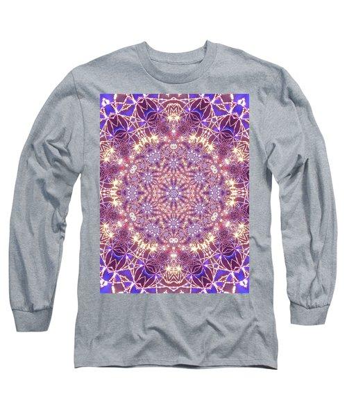 Long Sleeve T-Shirt featuring the digital art Jyoti Ahau 15 by Robert Thalmeier
