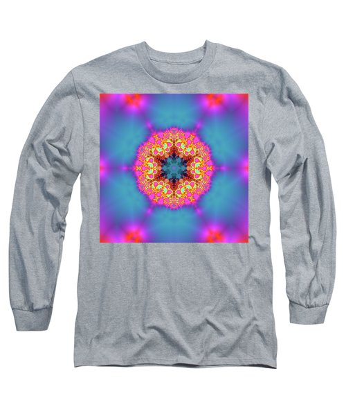 Long Sleeve T-Shirt featuring the digital art Jyoti Ahau 192 by Robert Thalmeier