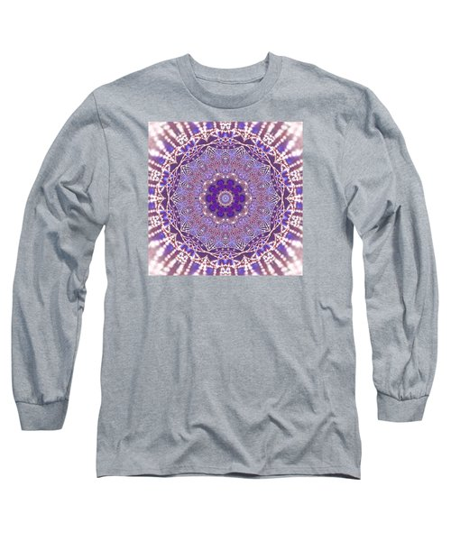 Long Sleeve T-Shirt featuring the digital art Jyoti Ahau 21 by Robert Thalmeier