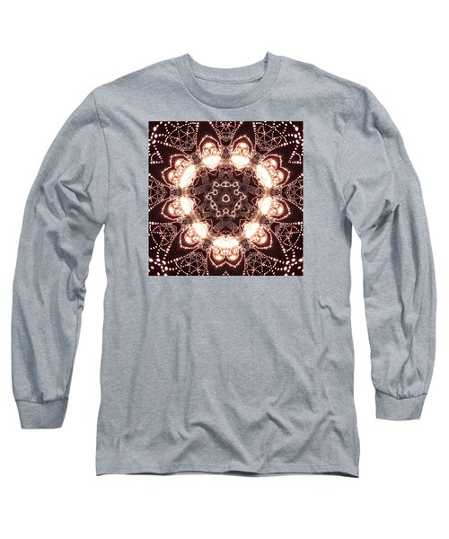 Long Sleeve T-Shirt featuring the digital art Jyoti Ahau 45 by Robert Thalmeier