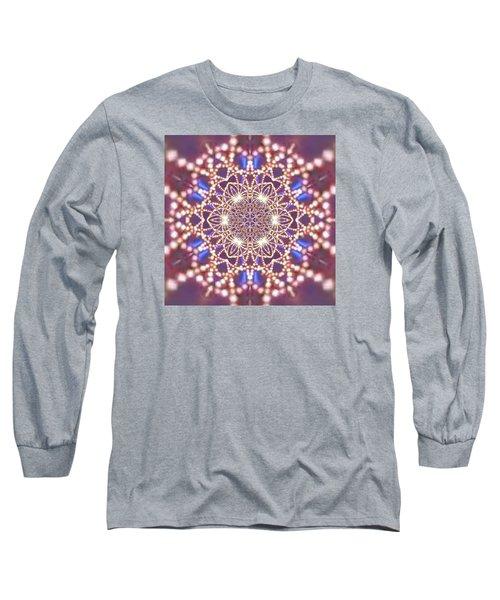 Long Sleeve T-Shirt featuring the digital art Jyoti Ahau 7 by Robert Thalmeier