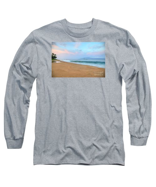 Long Sleeve T-Shirt featuring the photograph Ka'anapali Delight  by Kelly Wade