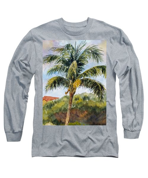 Kaanapali Palm Long Sleeve T-Shirt by William Reed