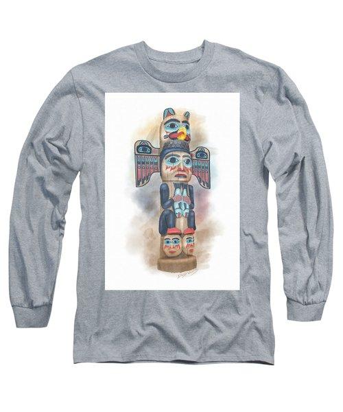 Kadjuk Bird Pole Long Sleeve T-Shirt