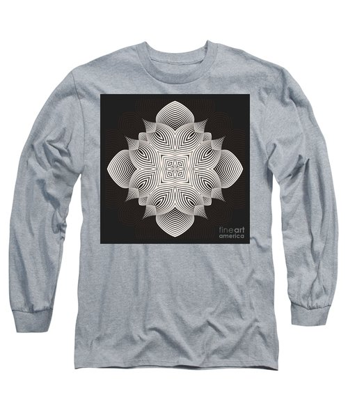 Long Sleeve T-Shirt featuring the digital art Kal - 71c89 by Variance Collections