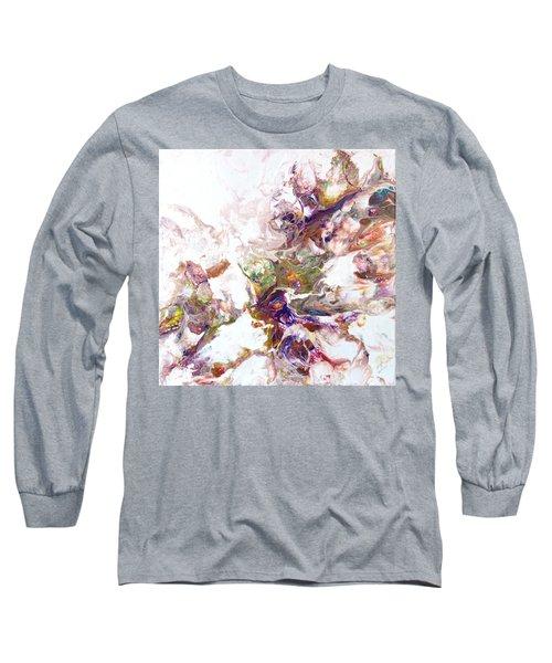 Kaleidescope Of Color Long Sleeve T-Shirt