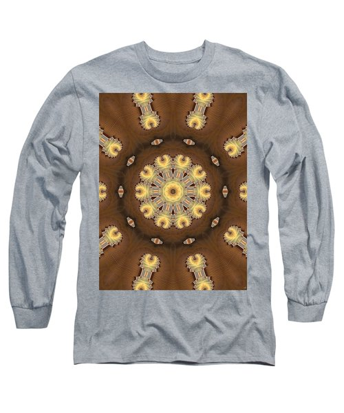 Kaleidoscope 125 Long Sleeve T-Shirt by Ron Bissett